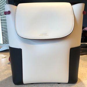 Ralph Lauren Leather Backpack